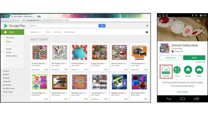 Over 100 Android Apps on Google Play Found to Be Infected With Windows Malware