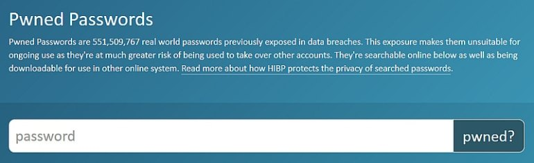 haveibeenpwnedpasswords haveibeenpwned