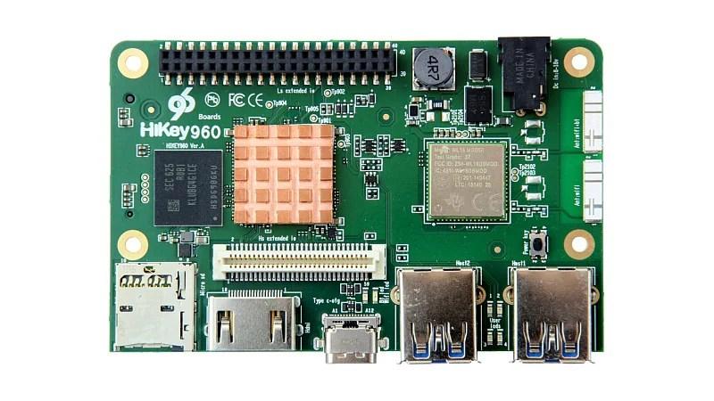 Huawei Launches HiKey 960, a Super-Powered Raspberry Pi-Style Development Board
