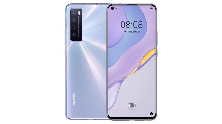 huawei nova 7 front Huawei Nova 7 5G