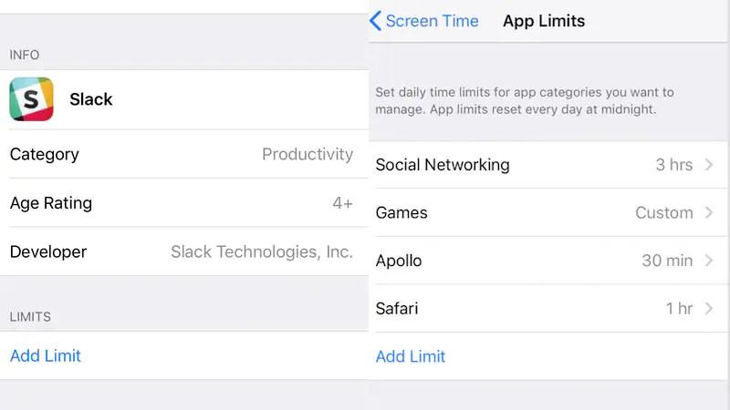 iOS 12 apple screen time limit apps sc iOS 12