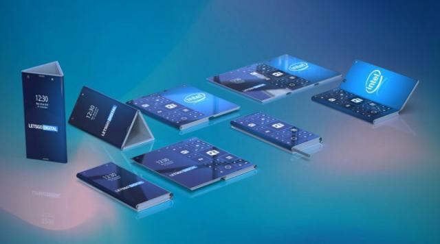 Intel Working on a 3-Display Foldable Phone That Opens Into a Tablet, Patent Suggests