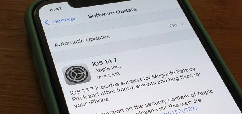 Apple Brings iOS 14.7 With MagSafe Battery Pack Support to iPhone 12 Series