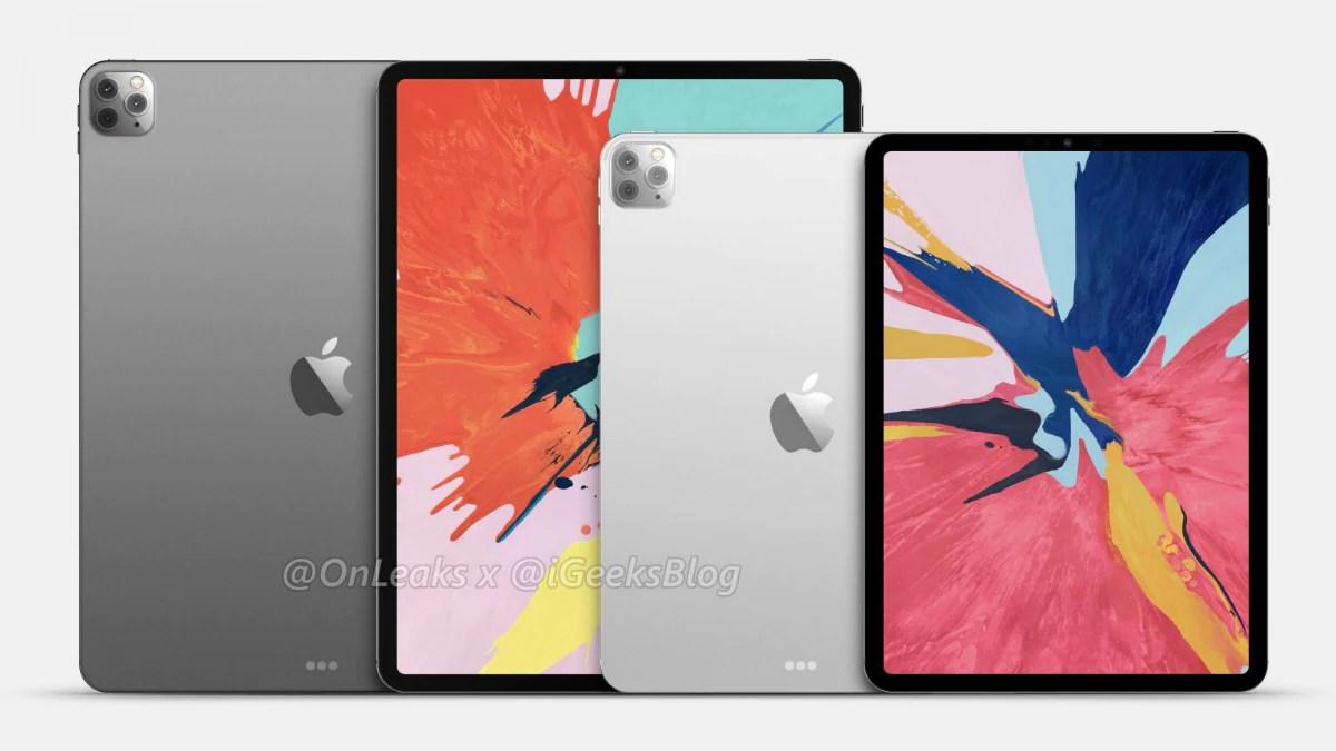 2020 Ipad Pro Purported Renders Suggest Iphone 11 Pro Like Triple