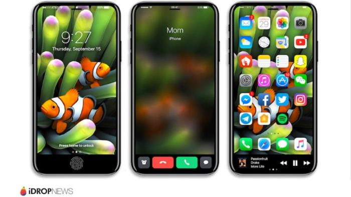 iPhone 8, iPhone 7s Plus Schematics Leaks Tip Design Details, Mass Production Reportedly Begins