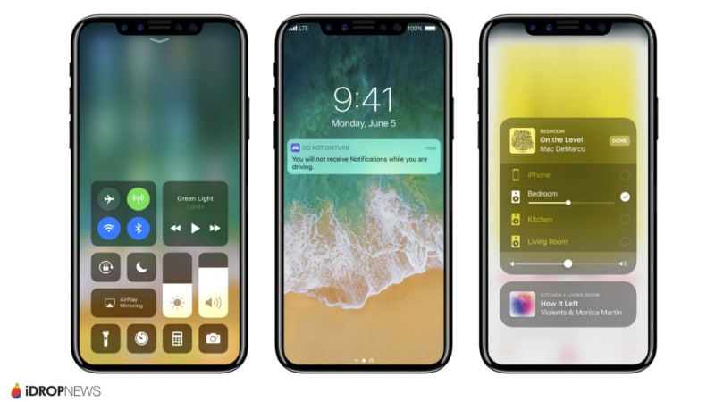 iPhone 8 Running on iOS 11 Leaked in Renders for the First Time