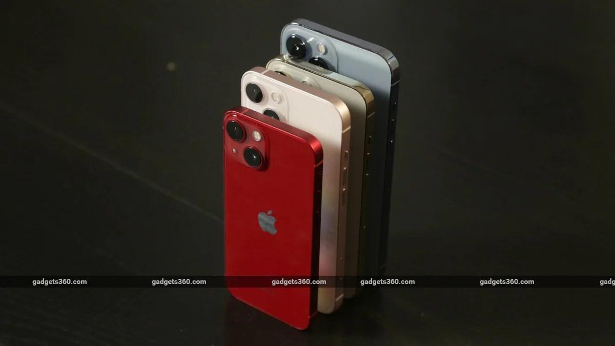 iphone 13 series ndtv iphone