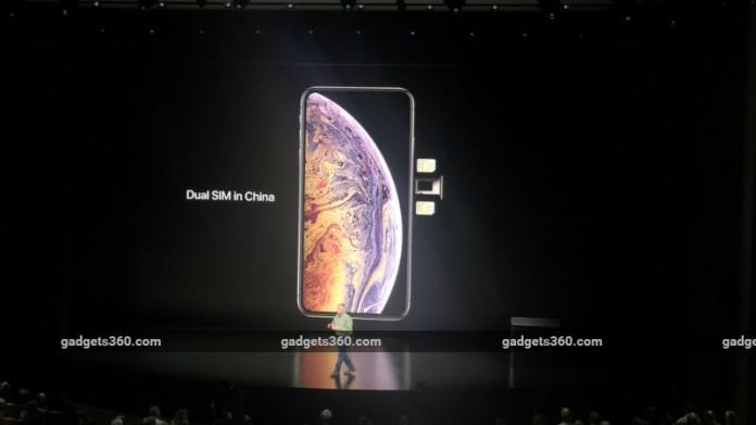iphone dual sim inline iPhone XS