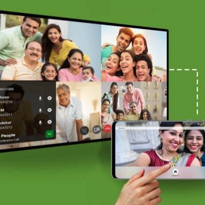 Jio Fiber Users Can Now Make Video Calls from TV Using Phone's Camera