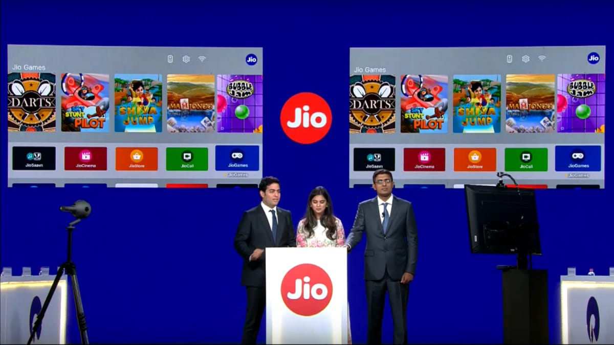 jio games set top box ril agm Jio Set Top Box  Reliance Jio  Jio