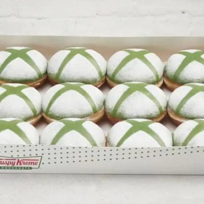 Xbox, Krispy Kreme Partner for Limited Edition Doughnuts