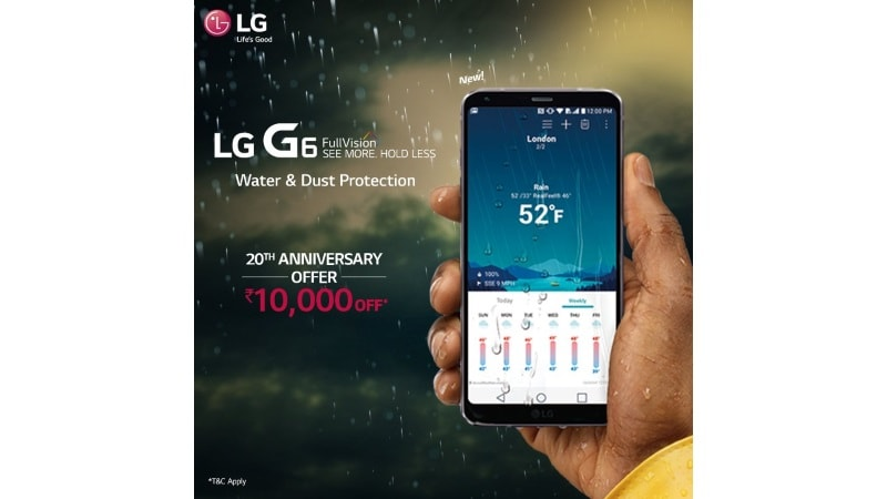 LG G6 Now Available With a Rs. 10,000 Discount in India