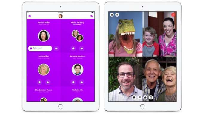Update Facebook Messenger Kids Launched, a Standalone App for 13 years
