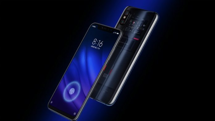 mi 8 fingerprint inline Mi 8 Youth