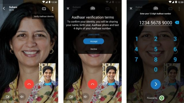 Skype Lite Gets Aadhaar Integration, Letting Users Verify Identity on Video Calls