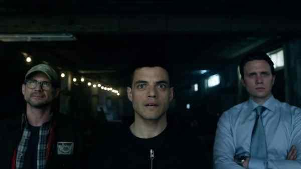 De hoofdcast uit Mr. Robot met Rami Malek, Christian Slater & ...