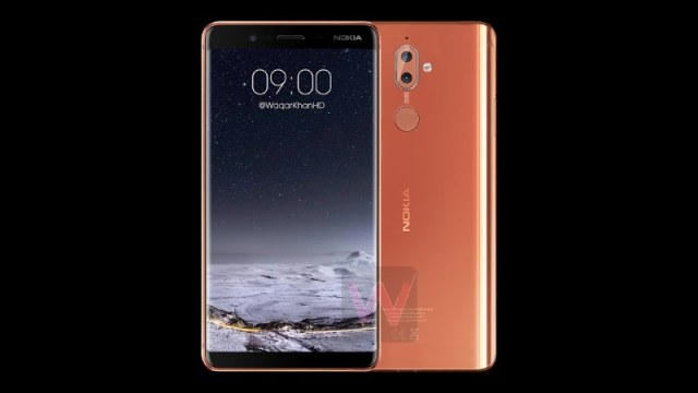%name Nokia Leaks: Once again Nokia 9 images leaked online, the smartphone has dual camera setup