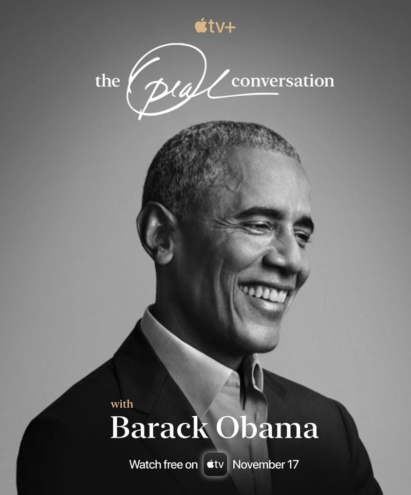 Barack Obama Is the Next Guest on Apple TV+'s The Oprah Conversation