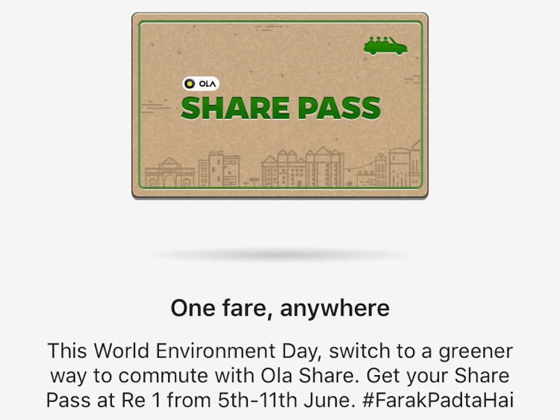 Ola Share Sees 500 Percent Growth in 1 Year