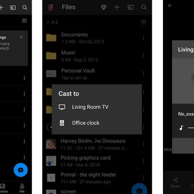 Microsoft OneDrive Now Supports Casting to Chromecast