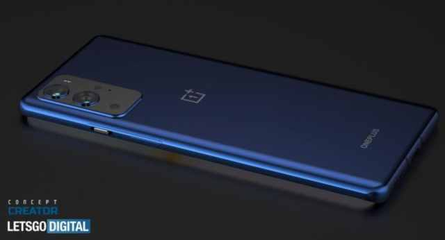 oneplus 9 pro back image render concept creator letsgodigital OnePlus 9 Pro