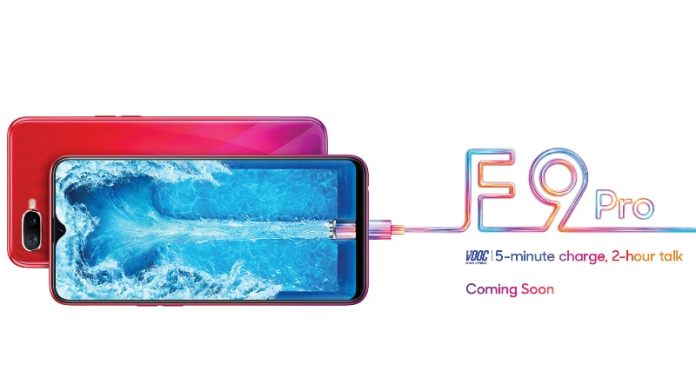 Oppo F9 Pro New India Teaser Shows VOOC Flash Charging