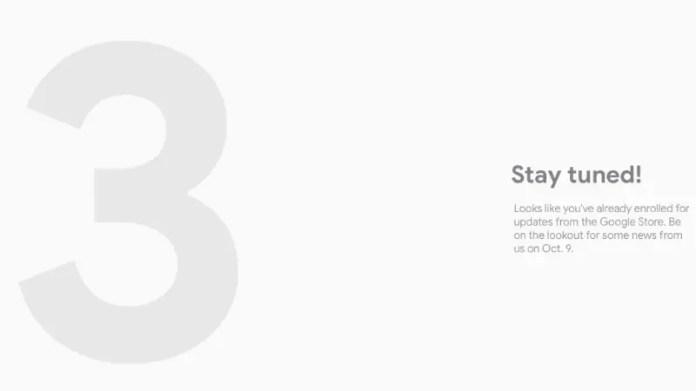 Pixel 3 Range Teased on Google Store Ahead of October 9 Launch