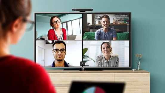 Facebook Portal TV now supports zooming, GoToMeeting video calling