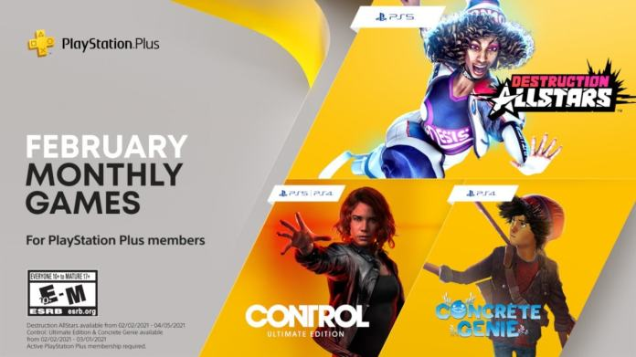 Playstation Plus Free Games Announced For February Control Ultimate Edition Concrete Genie Destruction Allstars Ndtv Gadgets 360
