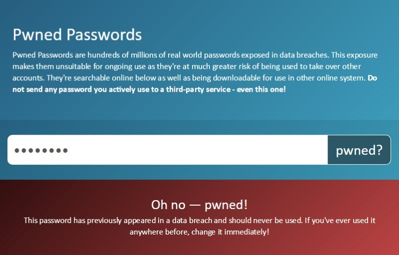 This Website Lets You Check Password Strength Against 320 Million Leaked Passwords
