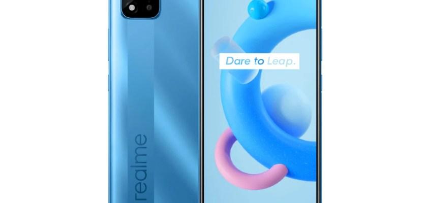 Realme C20A With MediaTek Helio G35 SoC Debuts