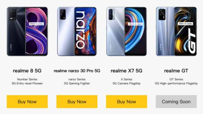 Realme GT 5G Teased to Launch in India Soon: Expected Price, Specifications