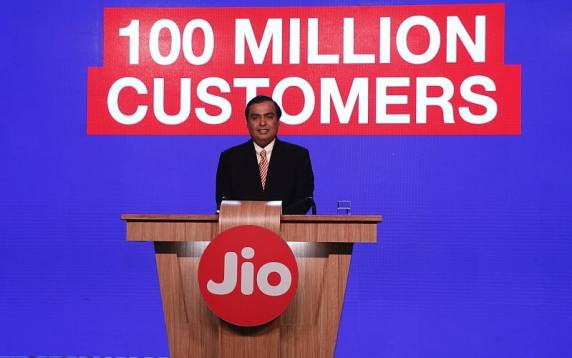 Reliance Jio Partners TeamF1 to Launch Fixed Line Digital Service in India