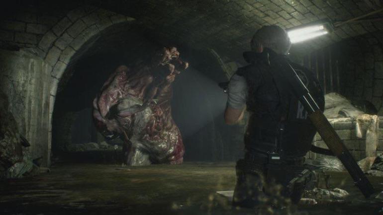 resi 2 sewer resident_evil_2