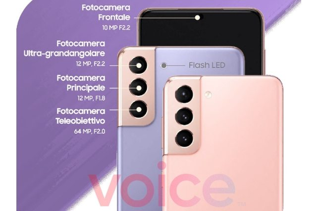 samsung galaxy s21 plus camera infographics leak voice evan blass Samsung Galaxy S21 Ultra