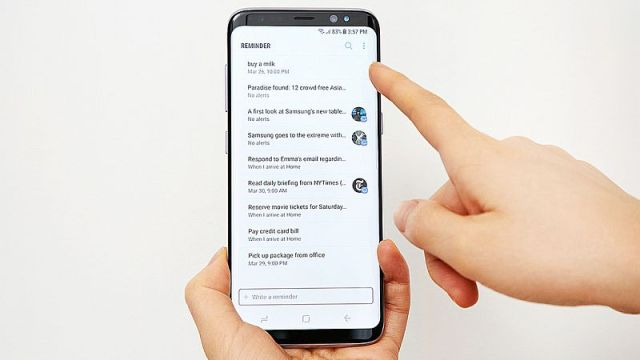 Samsung Galaxy S8+ Reportedly Receiving Firmware Update, Includes June Security Patch
