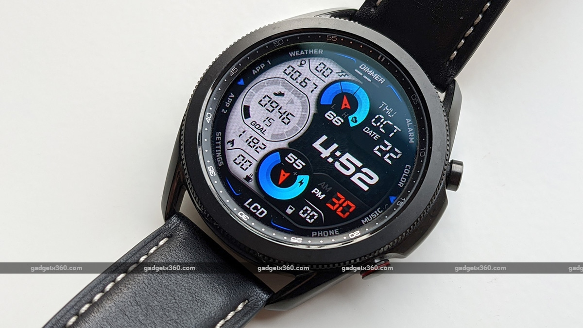 samsung galaxy watch 3 lte review watch face s