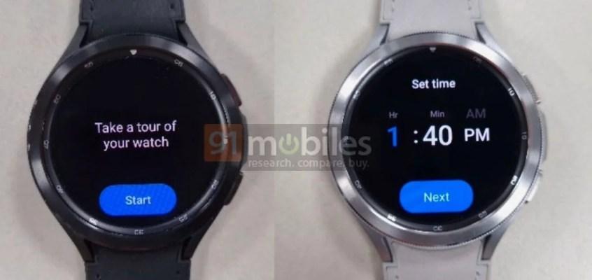 Samsung Galaxy Watch 4 Classic Live Photos Leak Ahead of Launch