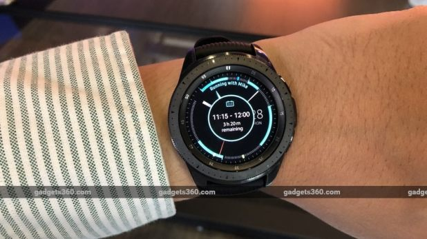 samsung galaxy watch face gadgets 360 samsung