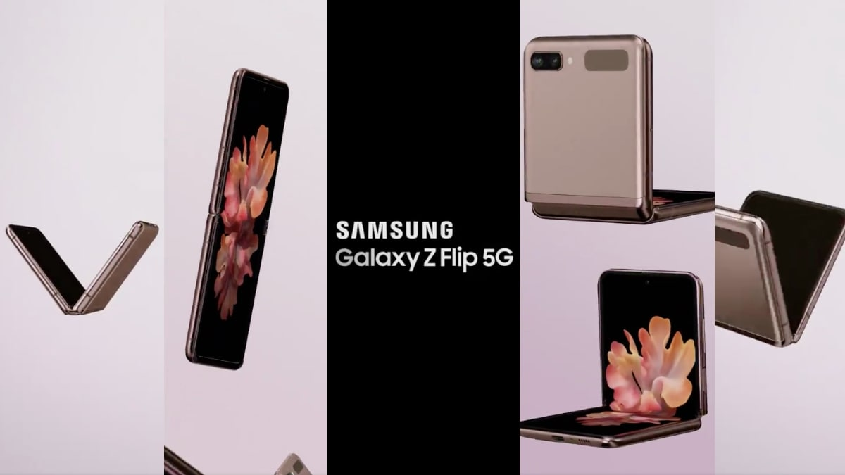 Samsung Galaxy Z Flip 5G Video Promo Leak Showcases It From All Sides Ahead of Launch 2
