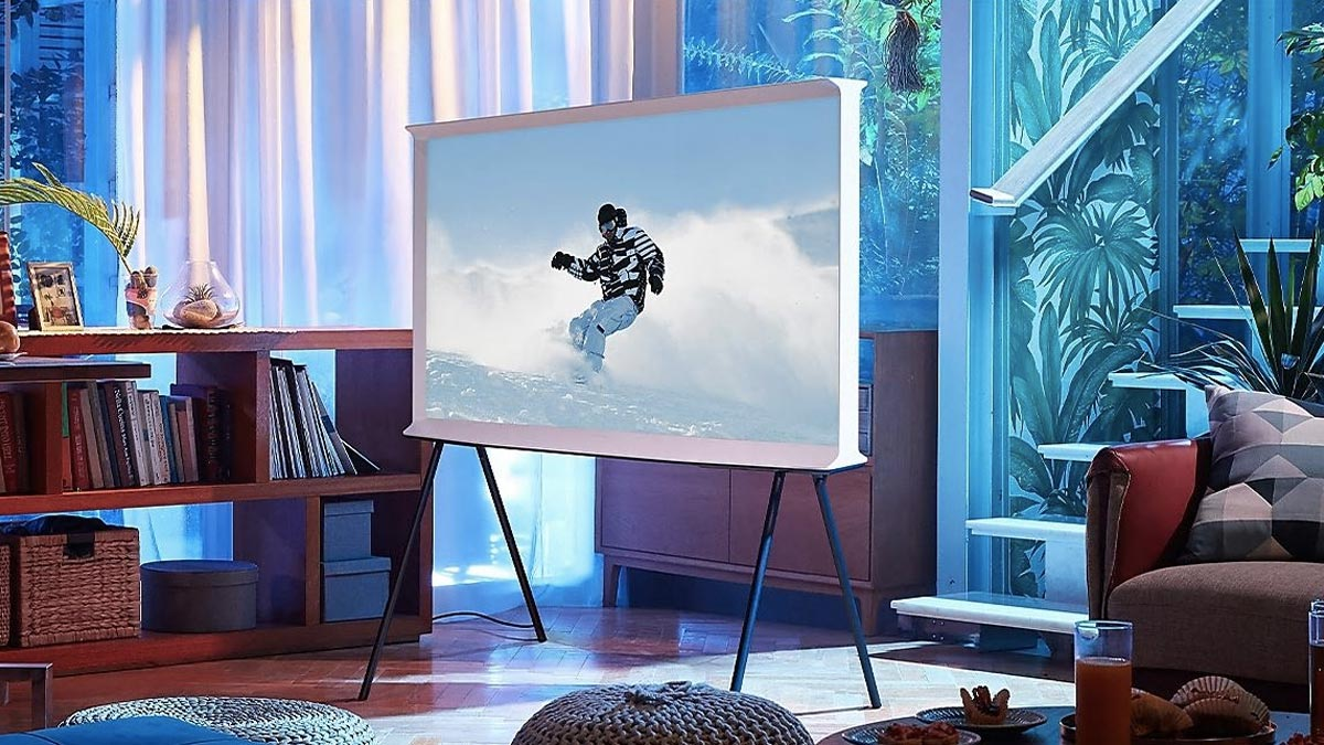 Samsung Launches The Serif, 8K and 4K QLED TVs as Part of 2020 Lineup in India 77