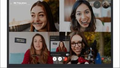 تقدم Skype تعتيم الخلفية لمكالمات الفيديو على سطح المكتب 12