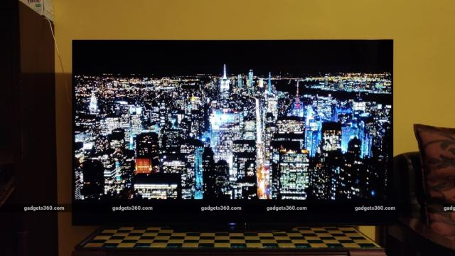 sony a9g oled tv review the boys night Sony A9G