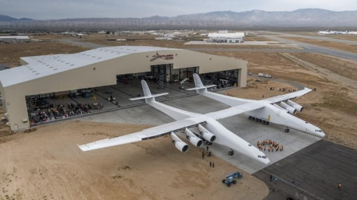 Microsoft Co-Founder Paul Allen Rolls Out World's Largest Aeroplane, the Stratolaunch