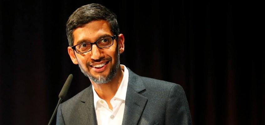 Google's Sundar Pichai Joins Steering Committee of COVID-19 Task Force