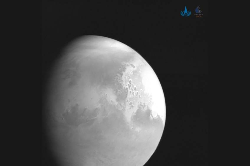 China's Mars Probe Tianwen-1 Sends Back Video of Red Planet After Successfully Entering Orbit