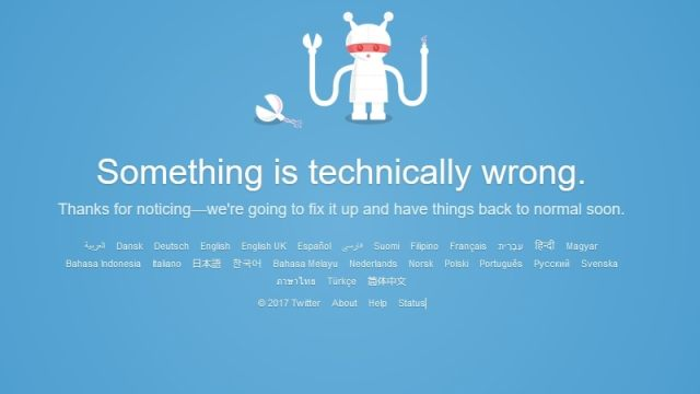 Twitter Users Experiencing Issues in Several Parts of the World