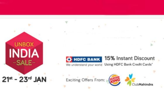 Snapdeal Unbox Sale Offers Reliance Jio SIM Cards, Deals on Smartphones, and More