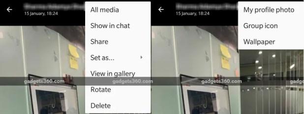 whatsapp media menu gadgets 360 whatsapp