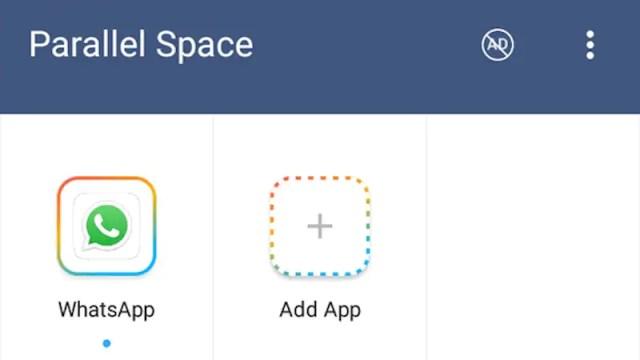 whatsapp parallel space WhatsApp